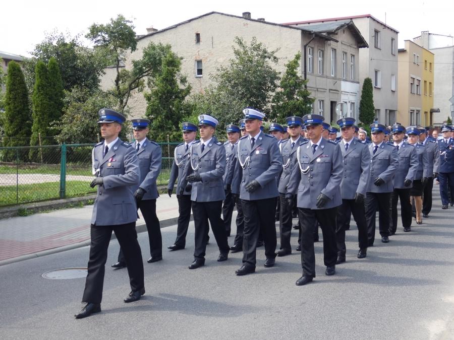 Jubileuszowe świętowanie Nowomiejskiej Policji