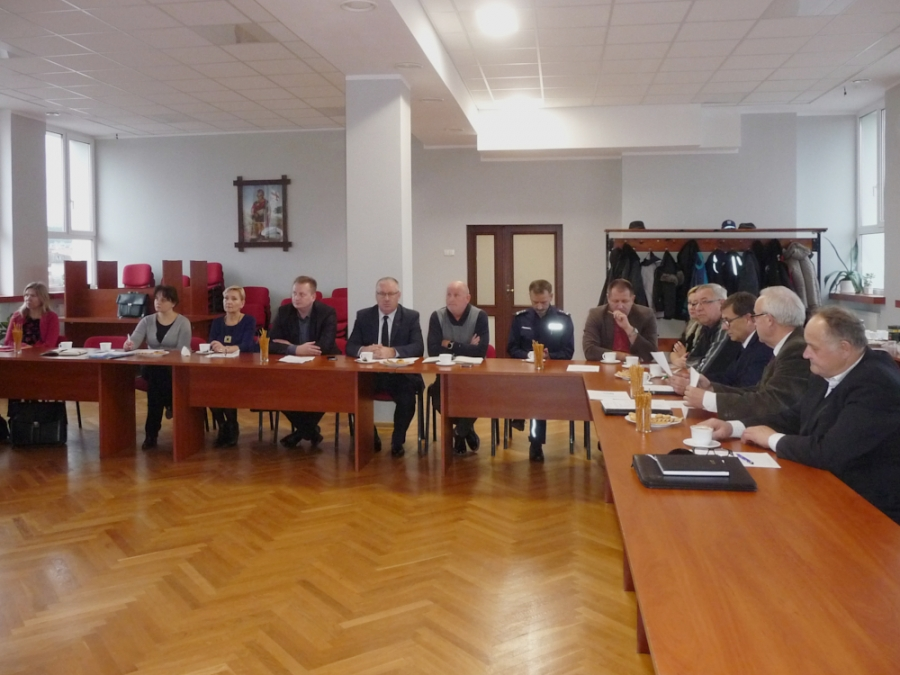Posiedzenie Komisji Bezpieczeństwa i Porządku Powiatu Nowomiejskiego - 4.12.2018