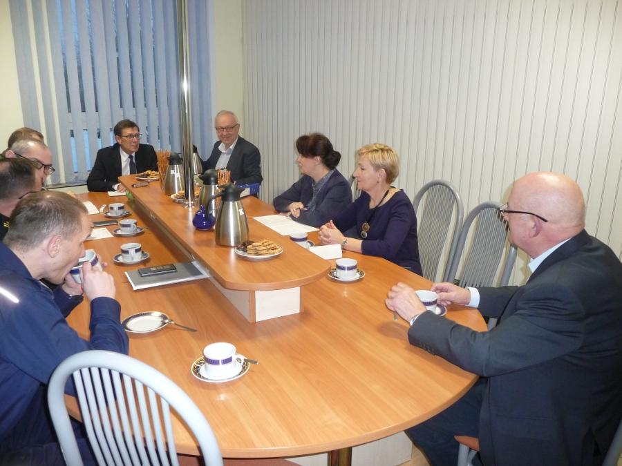Posiedzenie Powiatowego Zespołu Zarządzania Kryzysowego w dniu 21 grudnia 2018