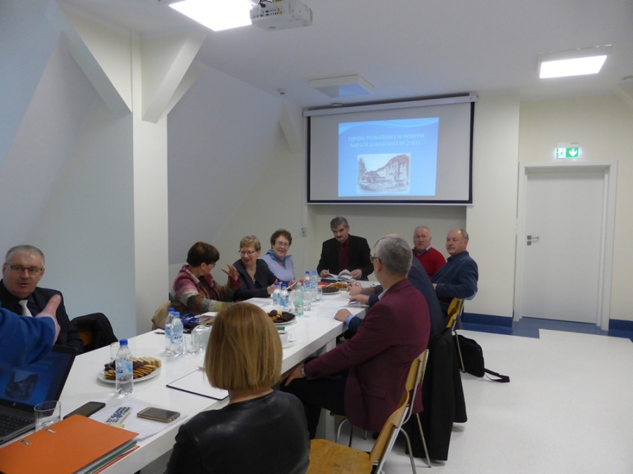 Posiedzenie Komisji Oświaty, Kultury, Polityki Społecznej i Ochrony Zdrowia Rady Powiatu - 29.01.2019