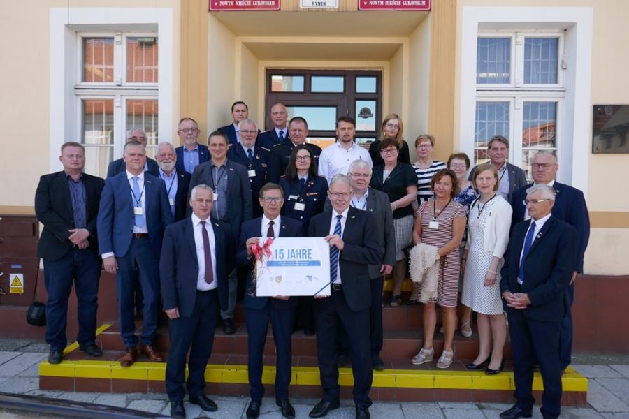 Wizyta delegacji partnerskiego Powiatu Oldenburg