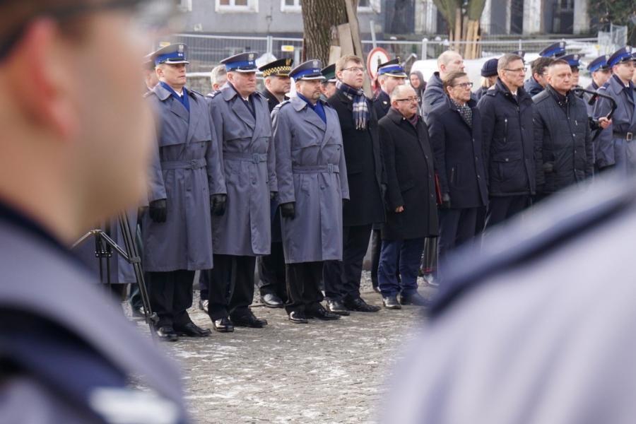 Uroczystość nadania patrona warmińsko – mazurskiej Policji