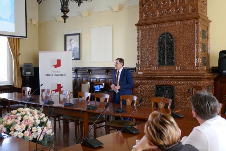 Spotkanie informacyjne dla przedsiębiorców z terenu Powiatu Nowomiejskiego